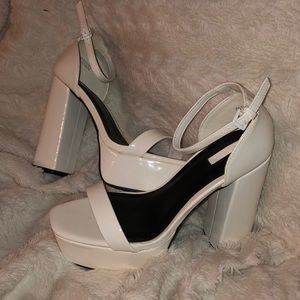 Chunky Platform heels from forever 21